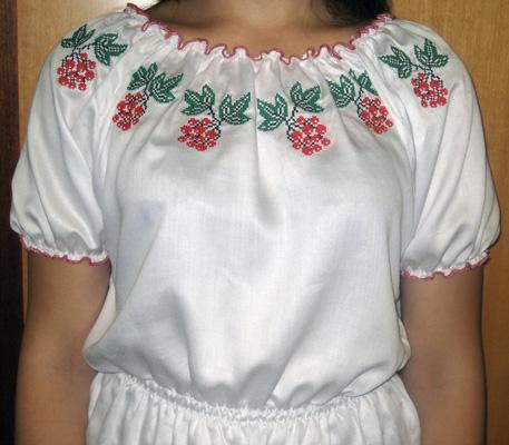 Трикотажна блузка, прикрашена